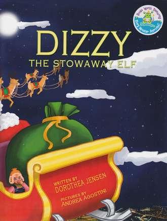 Dizzy, the Stowaway Elf (Santa's Izzy Elves #3)