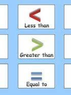 Matematică clasa 1 - Comparații de numere
