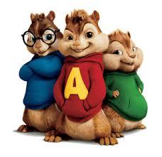 Alvin si veveritele