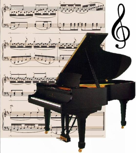 Muzica – pian