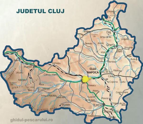 Județe din România – Cluj
