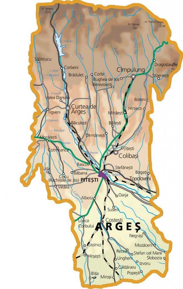 Județe din România – Argeș