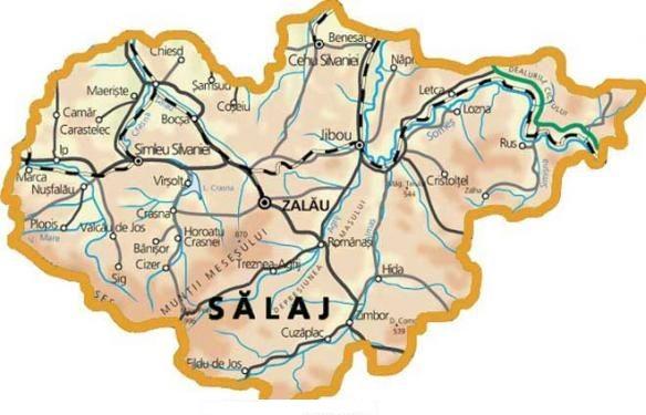 Județe din România – Sălaj