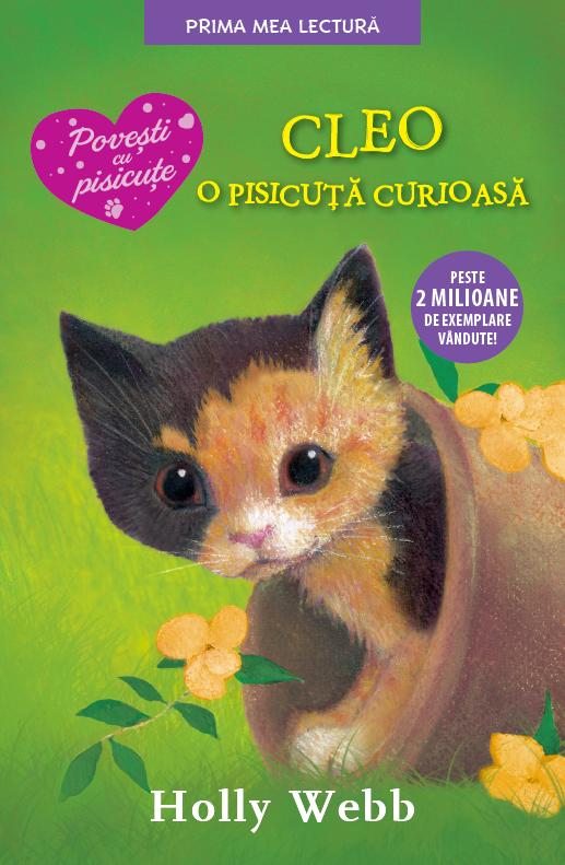 Cleo, o pisicuță curioasă