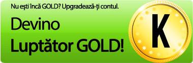 Upgrade contul la GOLD