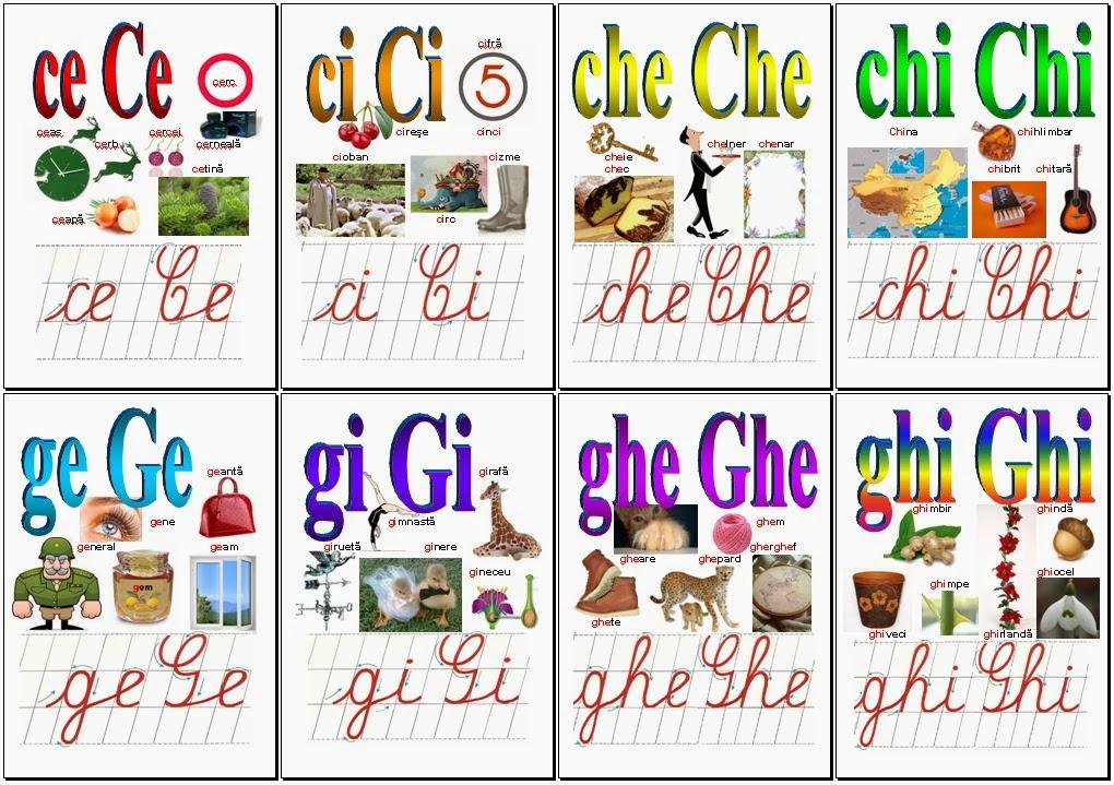 Grupuri de litere 1