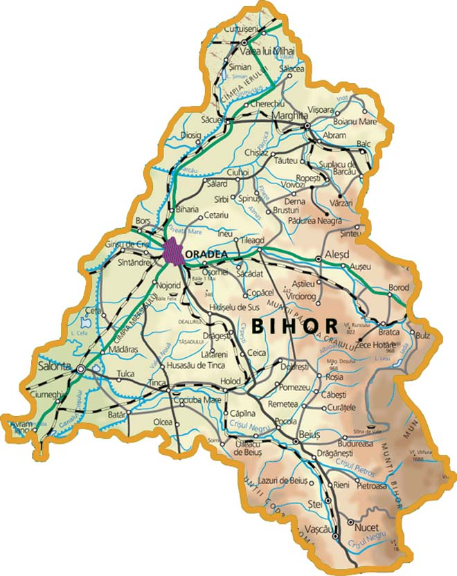 Județe din România – Bihor