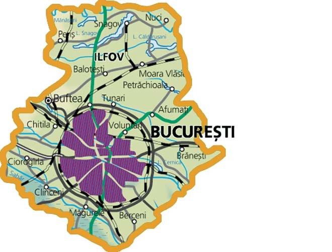 Județe din România – Ilfov