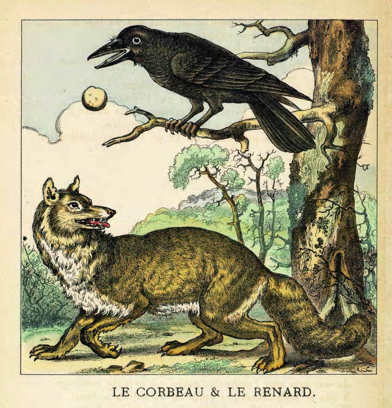 Vulpea si corbul