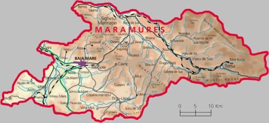 Județe din România – Maramureș