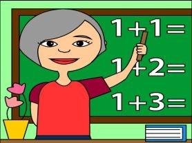 Test matematică clasa pregătitoare