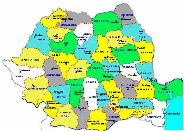 Romania Judete Resedinte Kidibot Bătăliile Cunoașterii