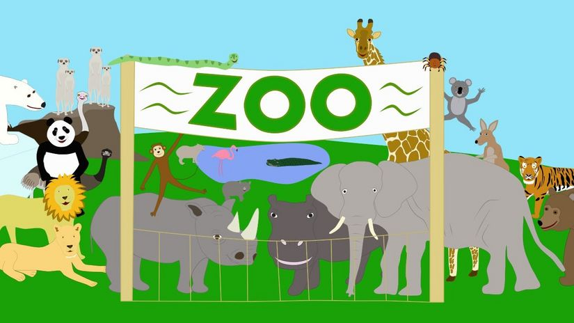 At the zoo – Learning English