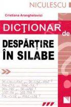 Gramatică - despărțirea în silabe