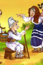 Fata babei si fata mosneagului - Povesti Romanesti