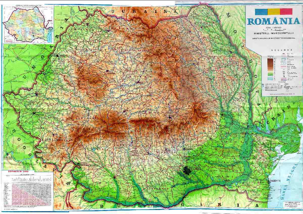 România – diferite locuri