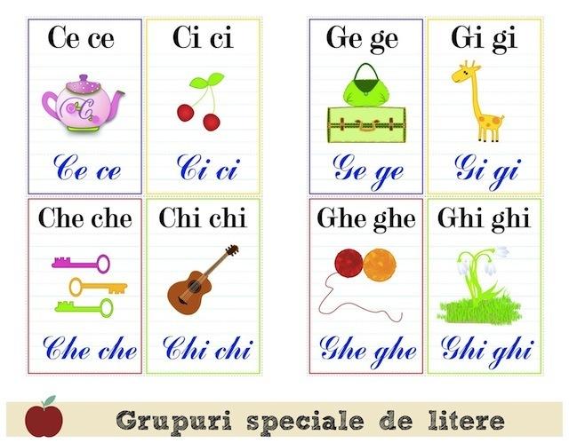 Grupuri de litere 3