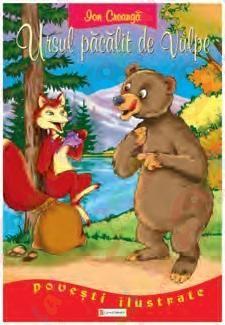 Poveste – Ursul păcălit de vulpe