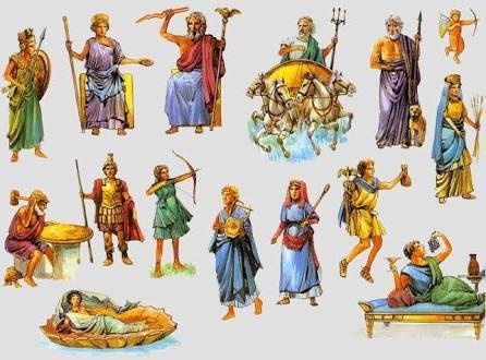 Divinități ale antichității greco-romane II