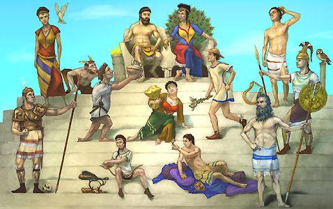 Divinități ale antichității greco-romane I