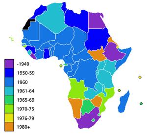 Istoria Africii