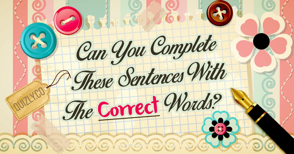 CORRECT WORD 1
