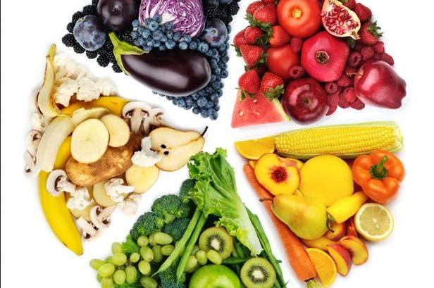 Culori, fructe și legume