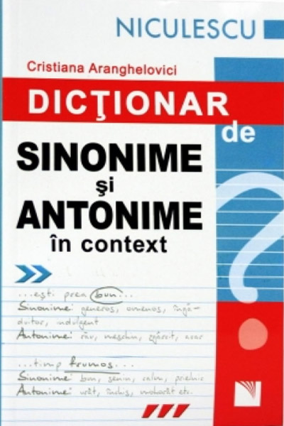 Vocabular – Sinonime