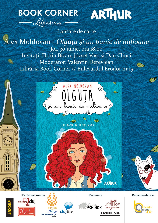 Olguța și un bunic de milioane – roman (10-13 ani)