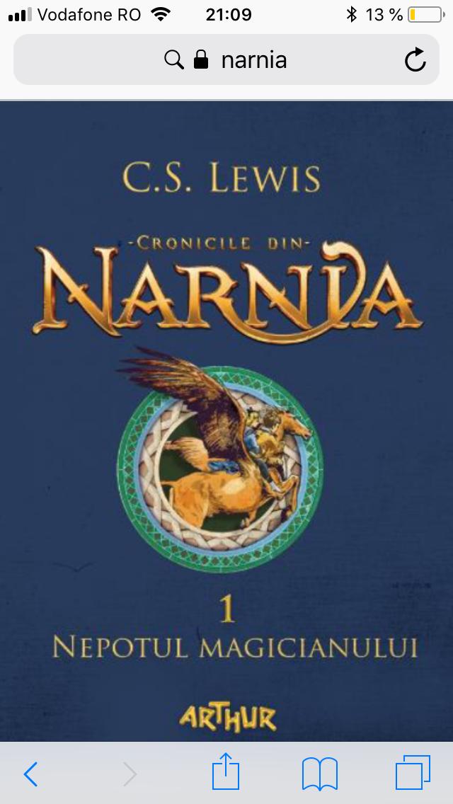NARNIA – volumul 1