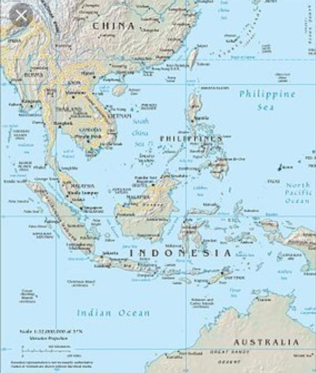 Asia de Sud-Est/Capitale