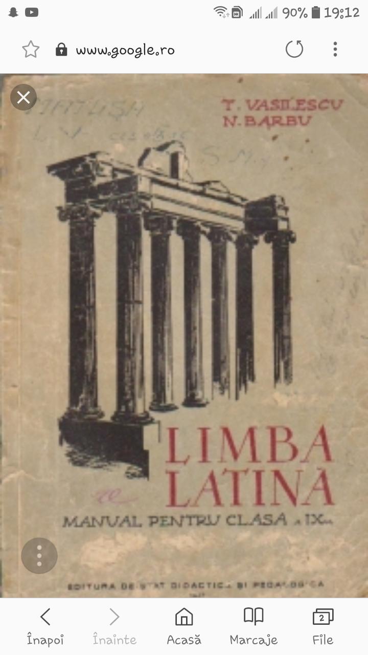 Originile latine part. 1