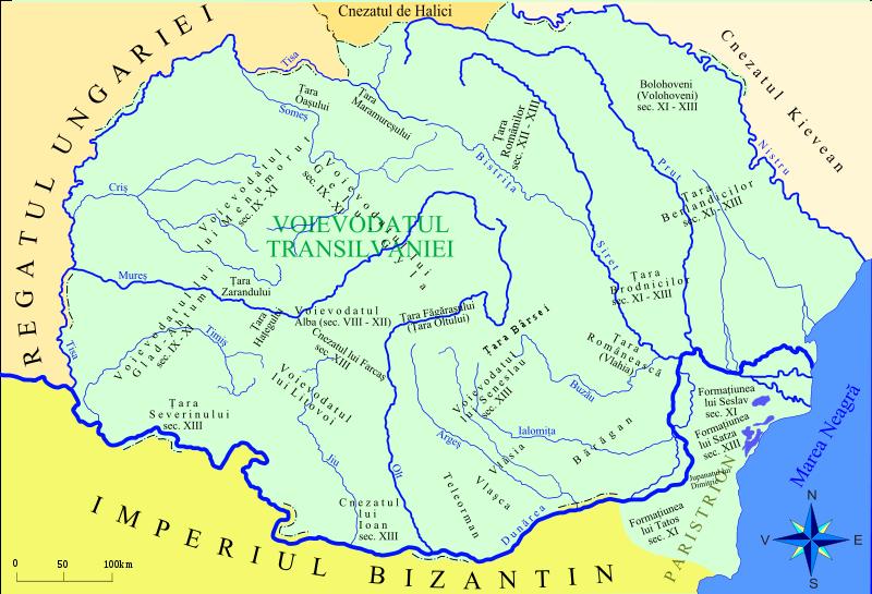 Formarea statului medieval Transilvania