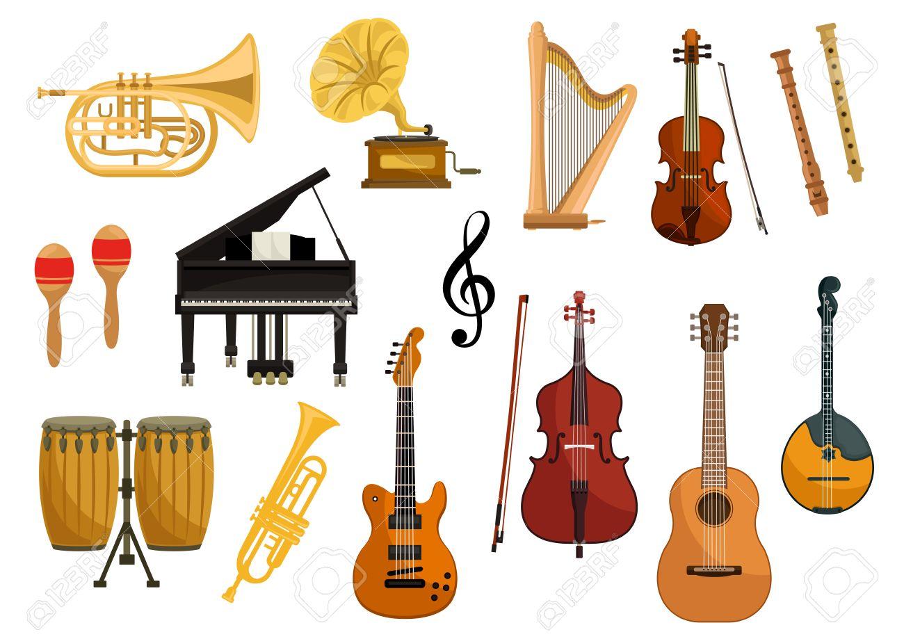 Instrumentele muzicale -Engleză