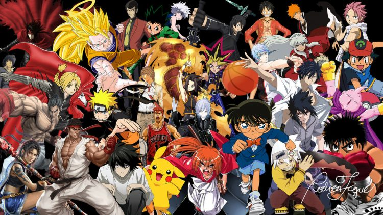 Anime seriale in limba japoneza