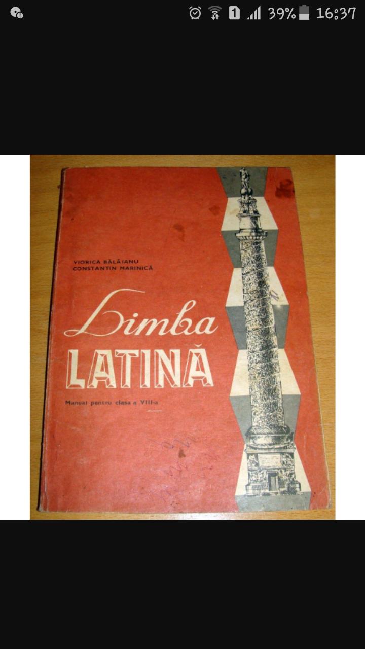 Cuvinte în latina