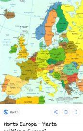 Geografie europeana – capitale