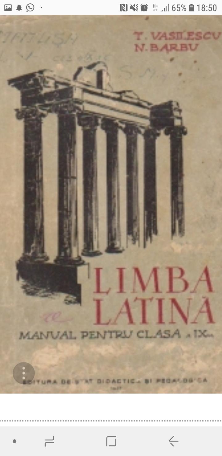 Alimente in latina