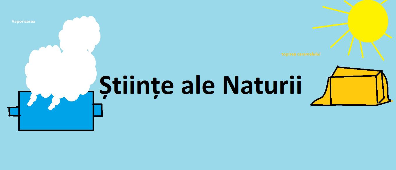 Stiinte ale naturii