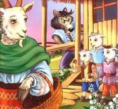 Lupul si cei 7 iezi