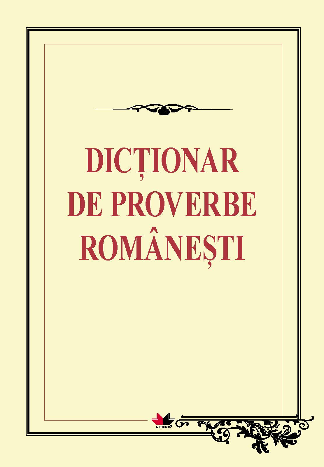 Proverbe romanesti  partea a II -a