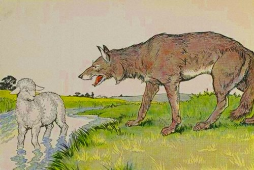 Lupul și mielul