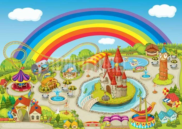 A colourful world