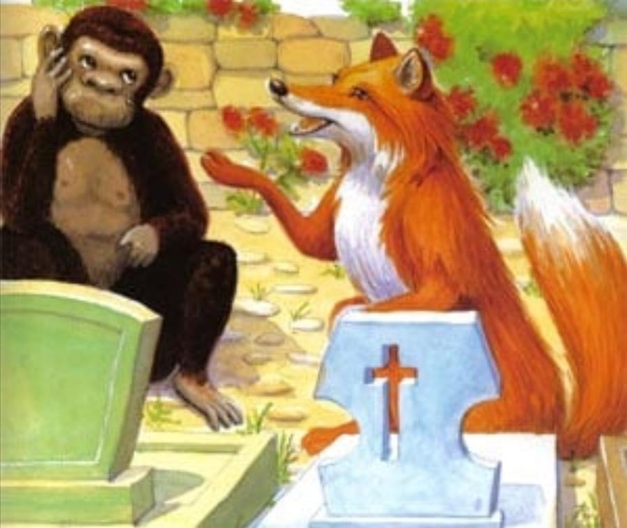 Maimuța și vulpea
