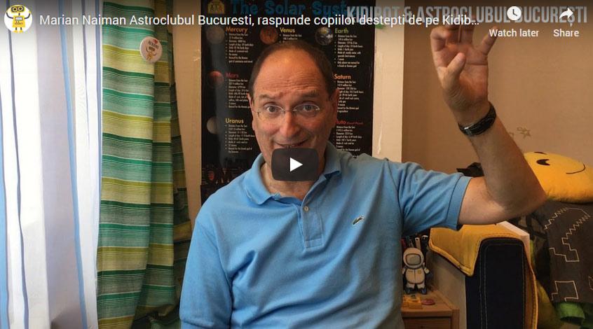 Exoplanetele – Video cu Marian Naiman, Președintele Astroclubului