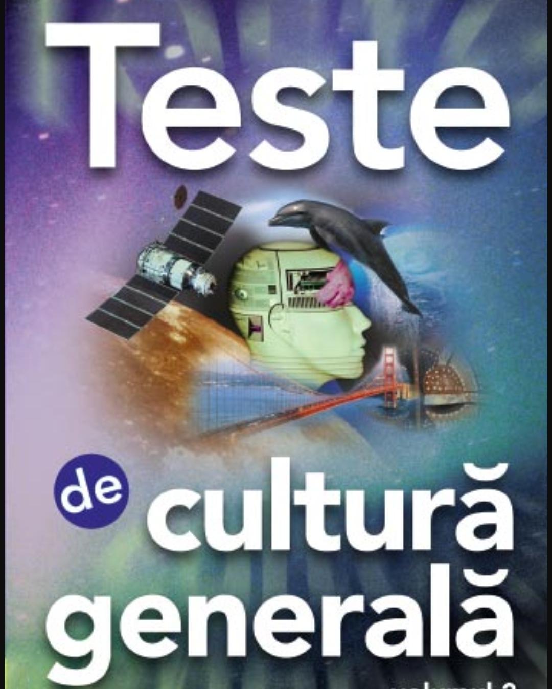 Test de cultură generală – A