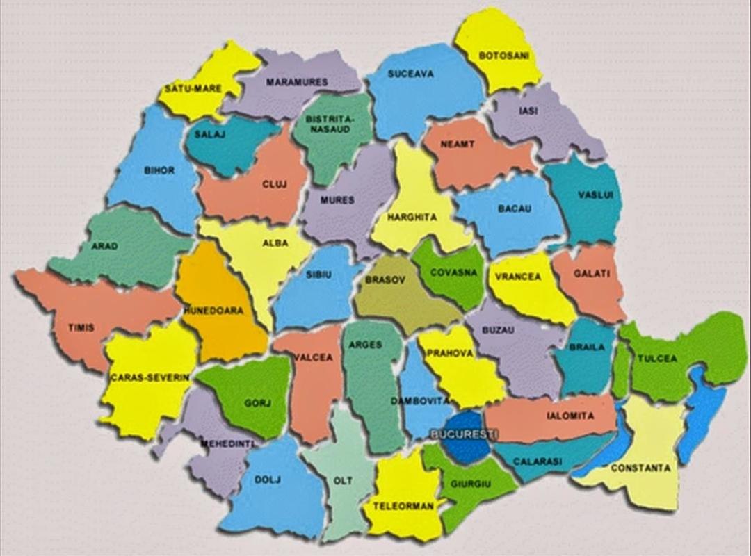 Județe din România A