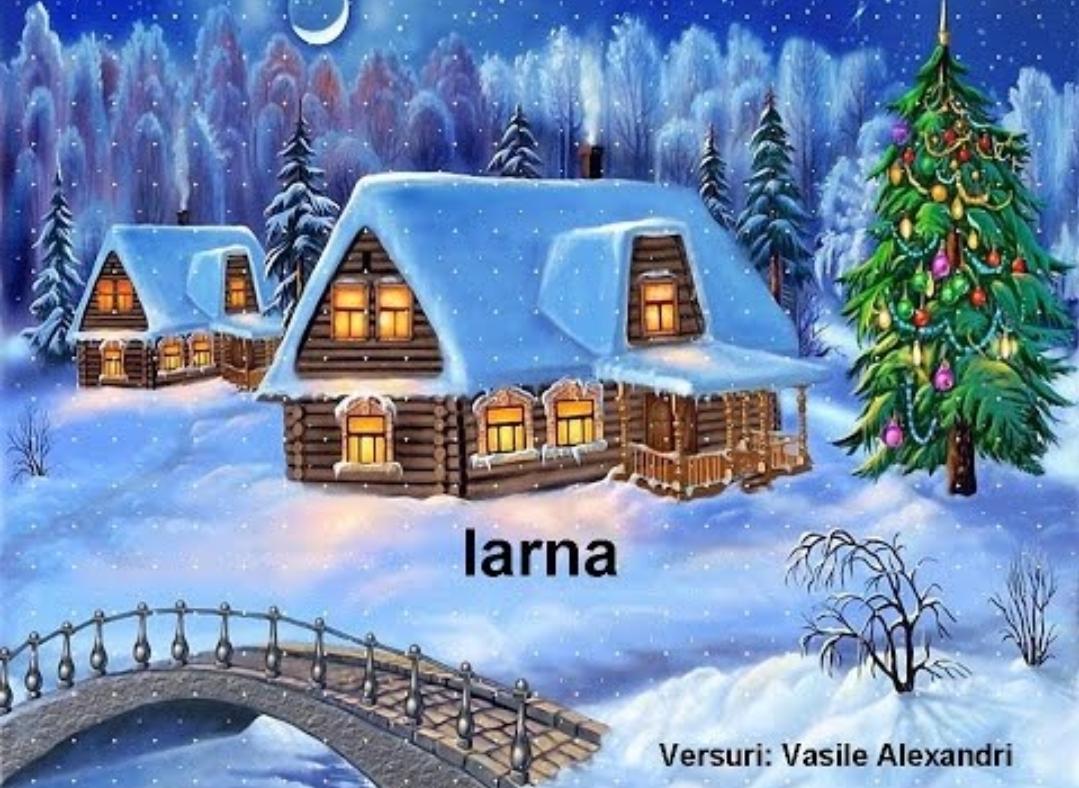 Iarna, de Vasile Alecsandri