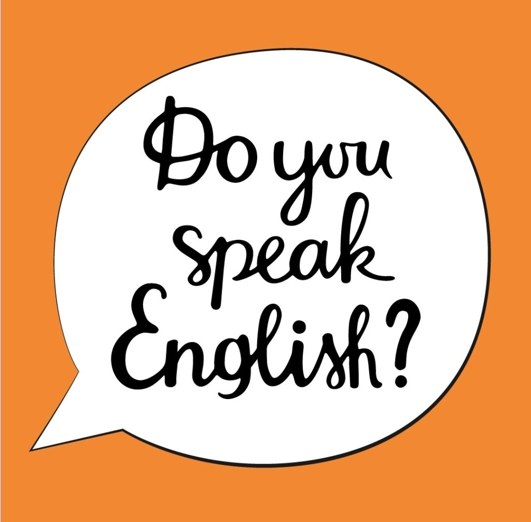 I love to speak English