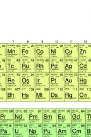 Elementele tabelului periodic VII